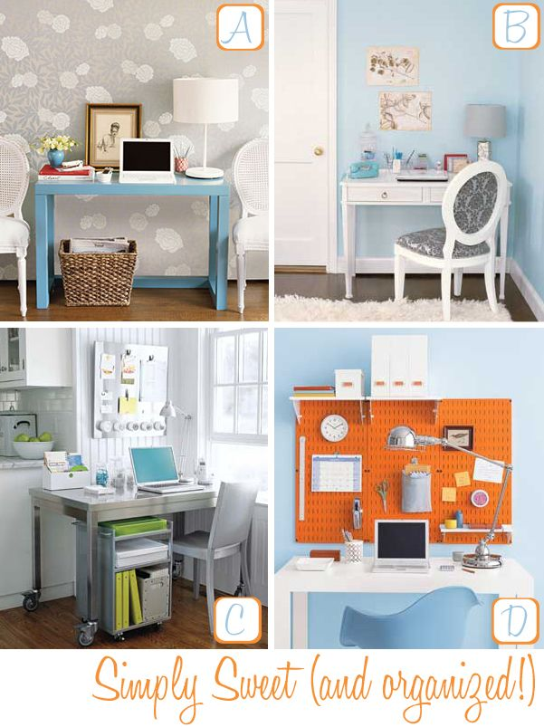 simply organized home office. Pinterest Home Organization | Office Organizing Tips Decor8 Simply Organized M