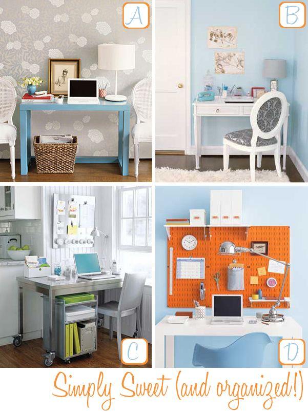 organize home office desk. Pinterest Home Organization | Office Organizing Tips Decor8 Organize Desk E