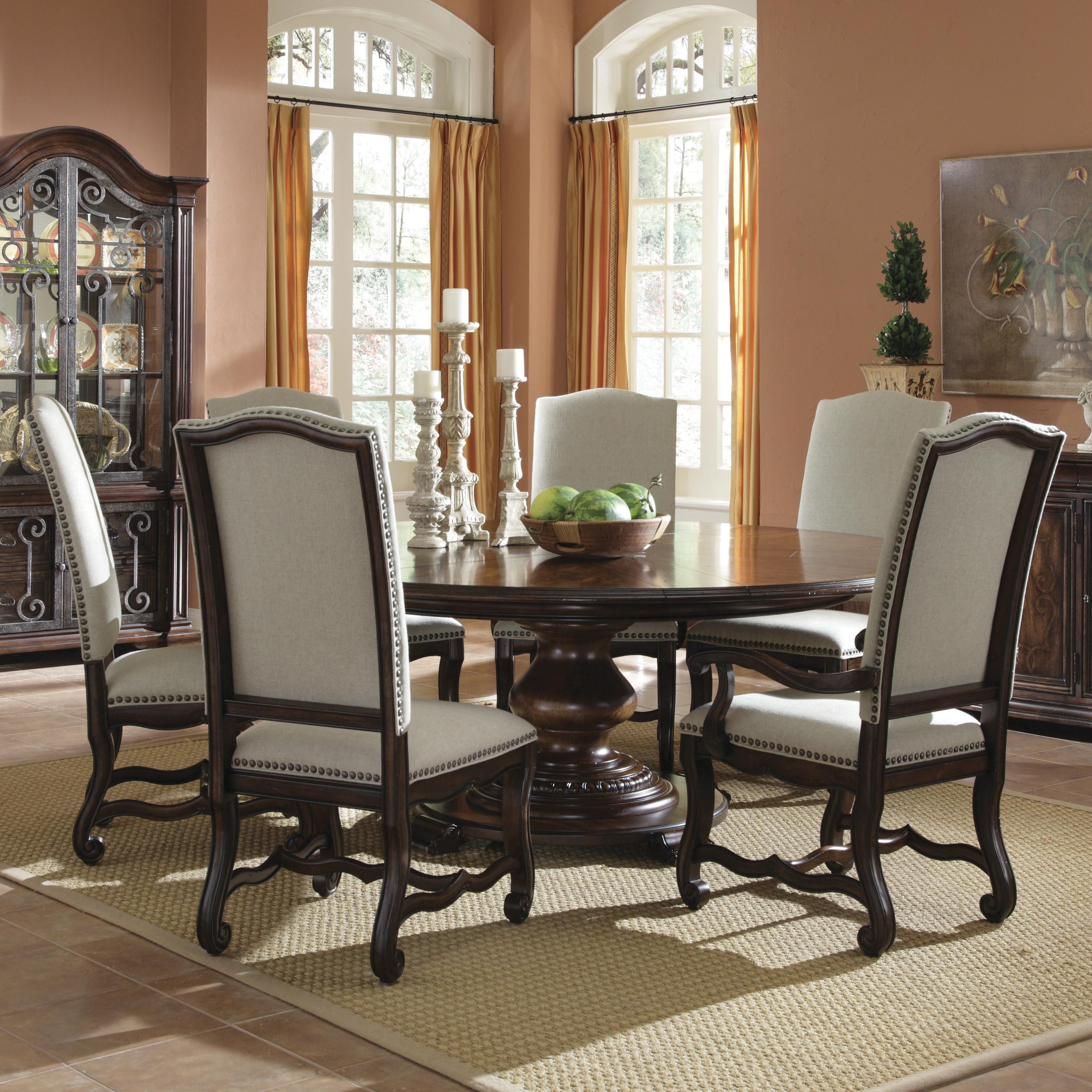 Round Dining Table Set For 6  Httpargharts  Pinterest Pleasing Round Dining Room Sets For 6 Decorating Inspiration