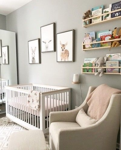 Chic And Neutral Styling In This Sweet Nursery Tap Image To Shop The Crib Swaddle Oh And P S Lit Bebe Fille Chambre Bebe Garcon Decoration Chambre Bebe