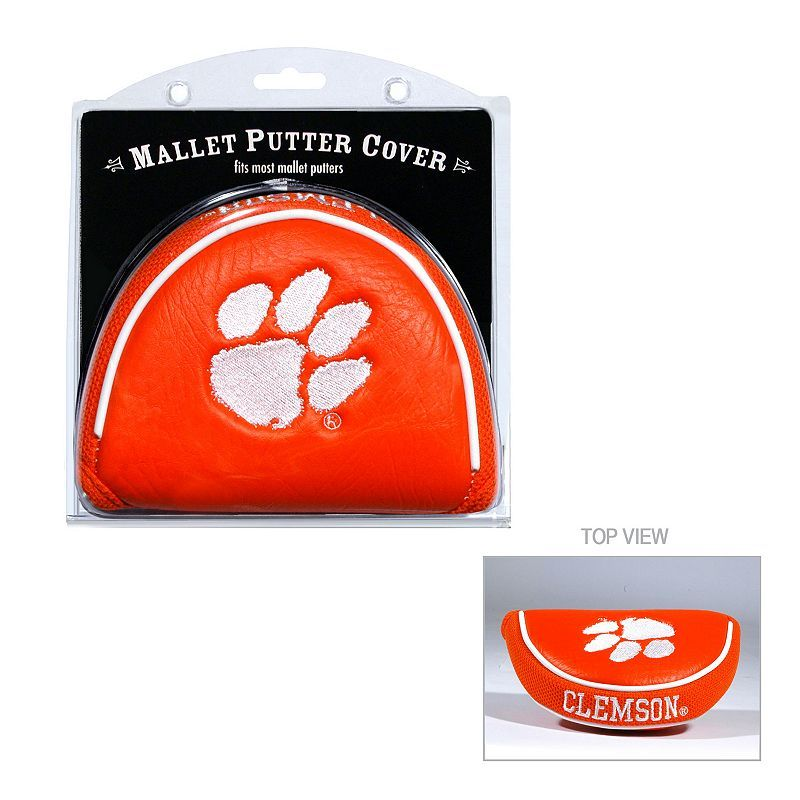 Team Golf Clemson Tigers Mallet Putter Cover Golf