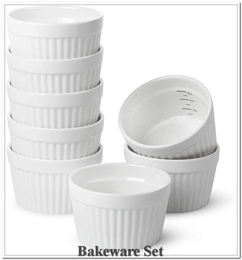 Btat Ramekins Set Of 8 Ramekins For Baking Ramekins 6 Oz
