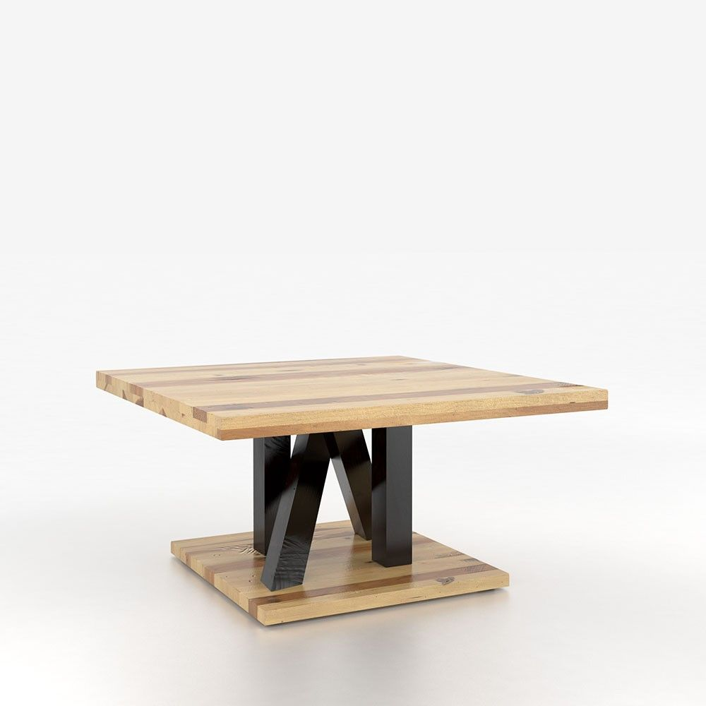 Coffe table canadel coffee table square living