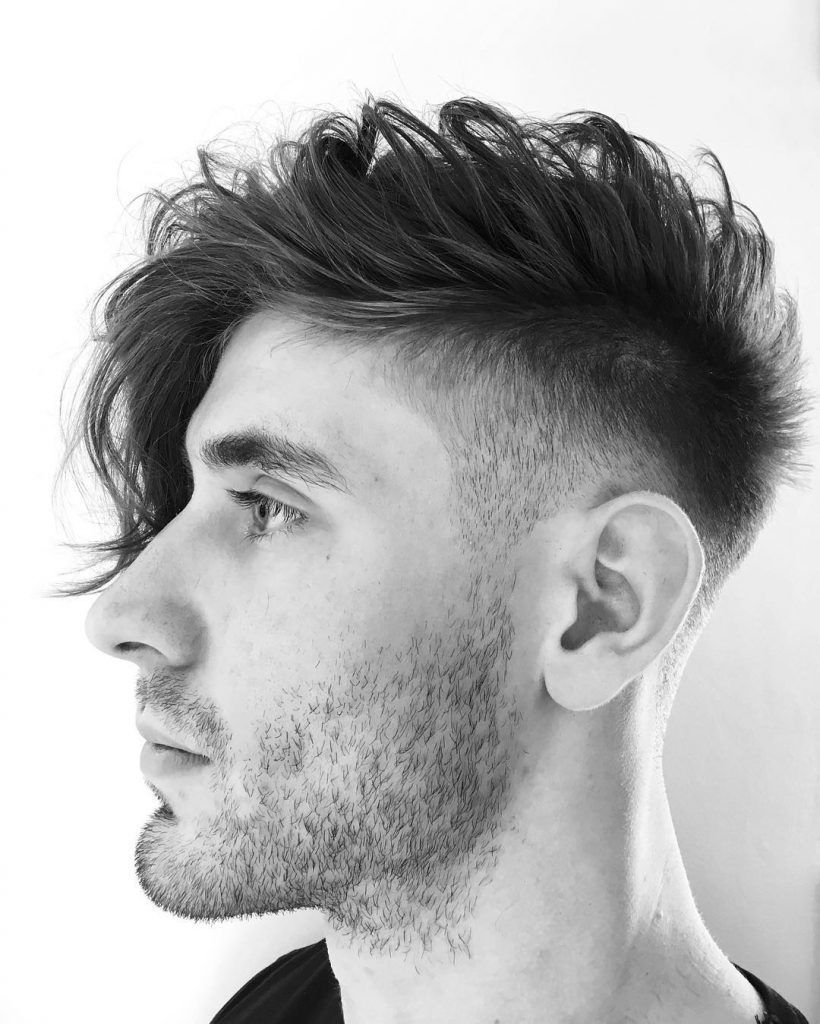 Long Side Fringe Low Fade Haircuts Long Hair Styles Men Undercut Hairstyles Mens Hairstyles