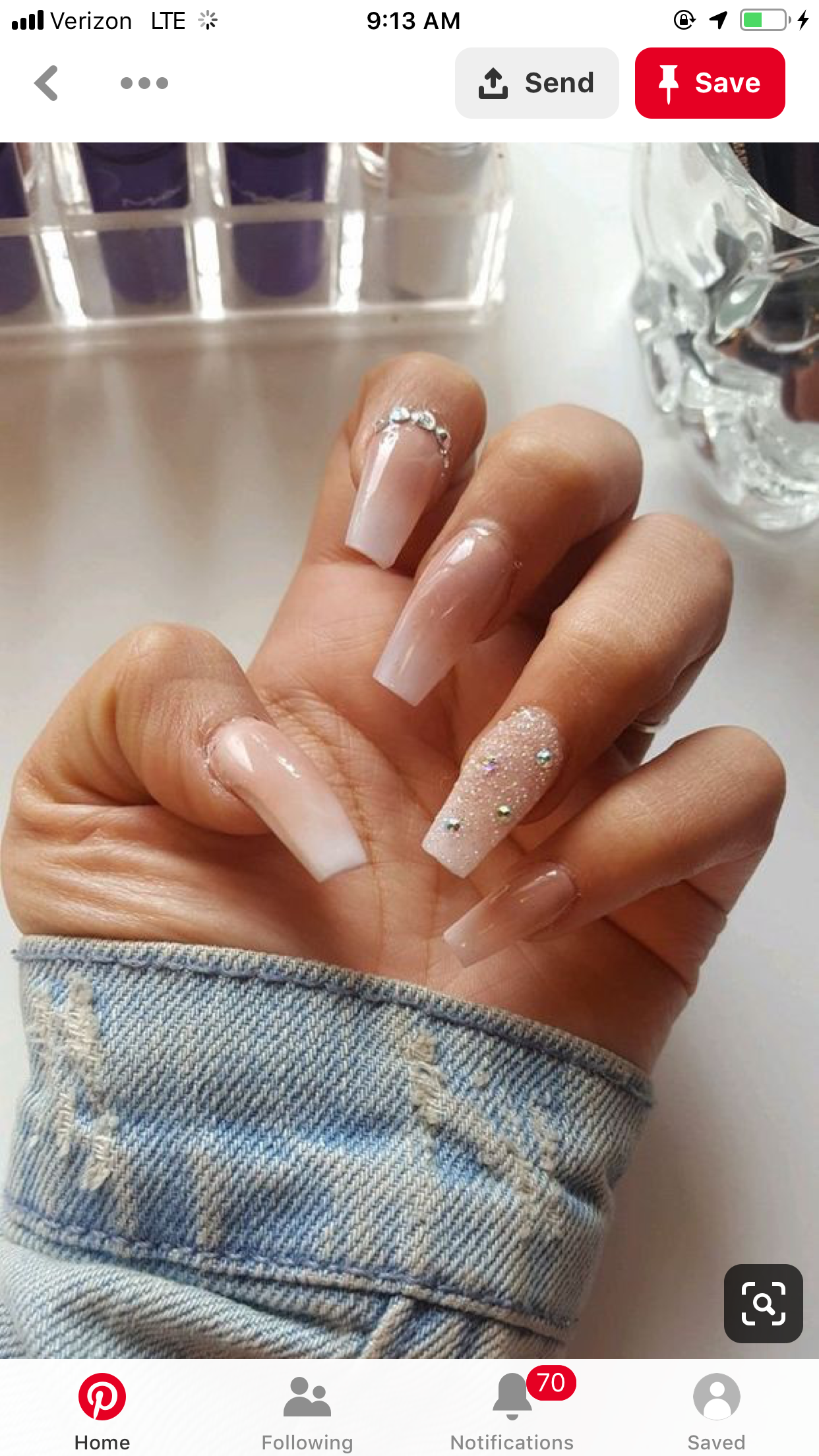 Pin by Sandy Rodriguez on Nails | Nails at home, Nails ...