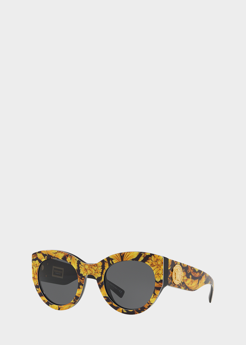 a8876575c66 Barocco Print Tribute Sunglasses from Versace Women s Collection. Timeless  sunglasses with an iconic Versace edge