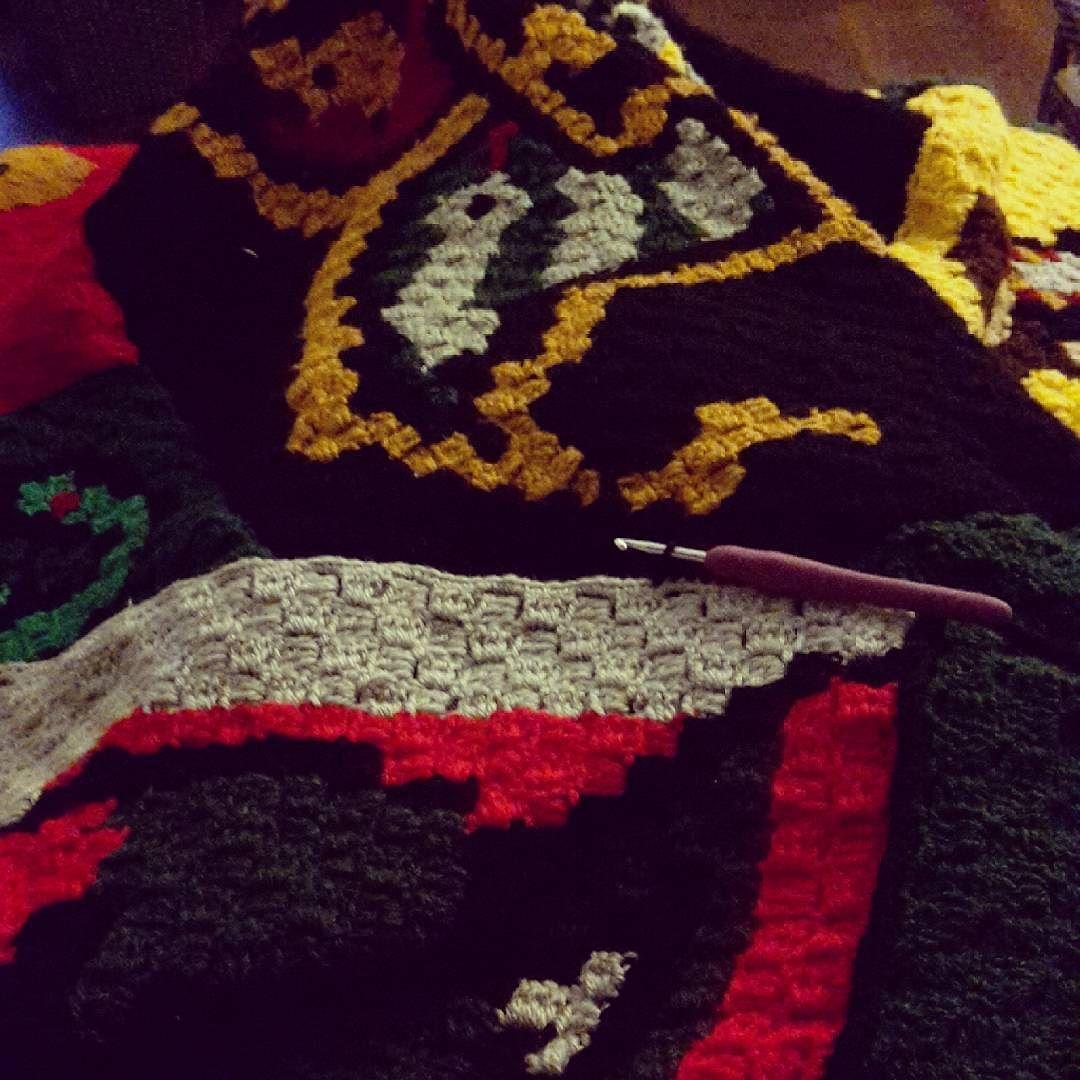 Exelent Häkeln Harry Potter Schalmuster Model - Decke Stricken ...