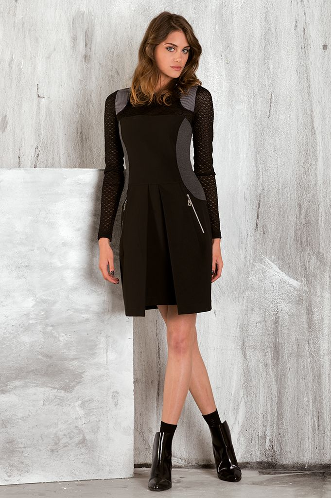 Modele robe hiver chic