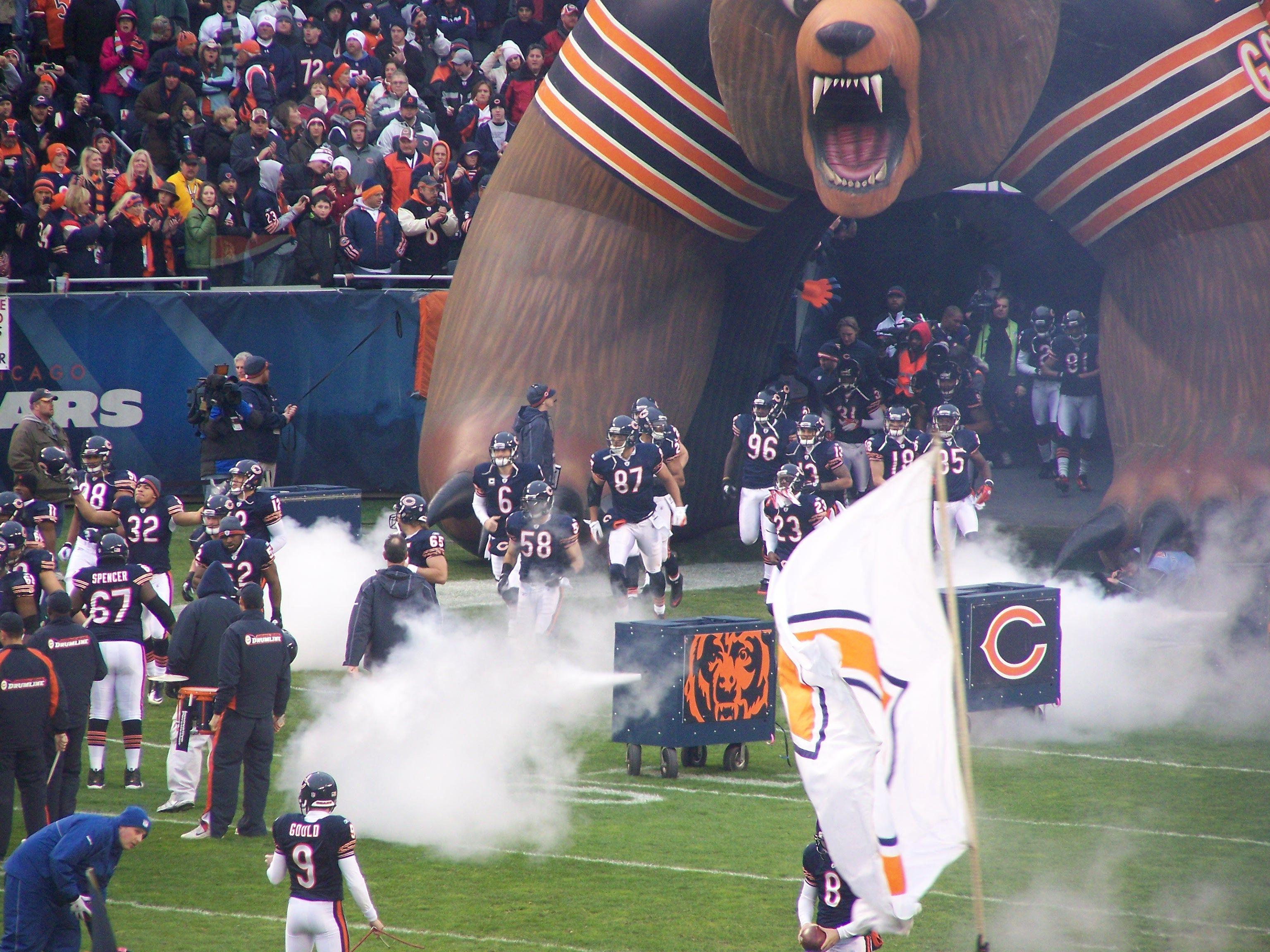 Chicago Game Day Chicago Bears Game Da Bears Chicago Bears