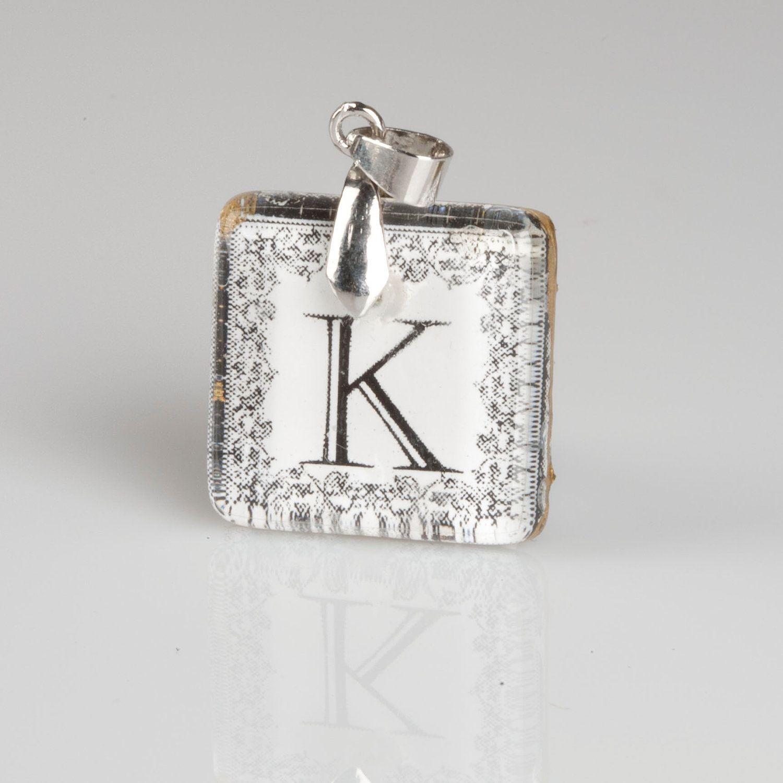 49+ Letter k necklace charm trends