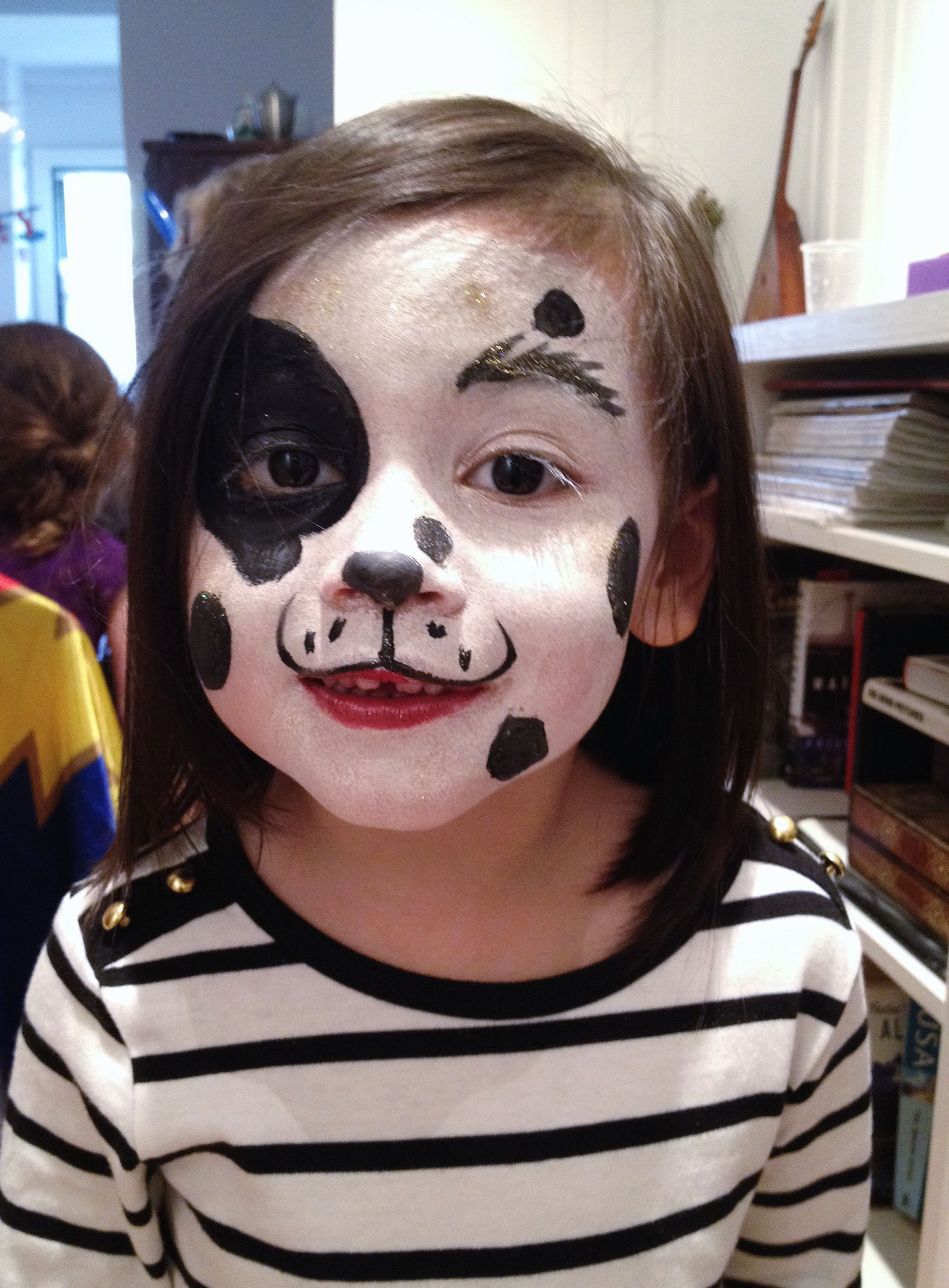 puppy face painting happy hearts nyc halloween pinterest