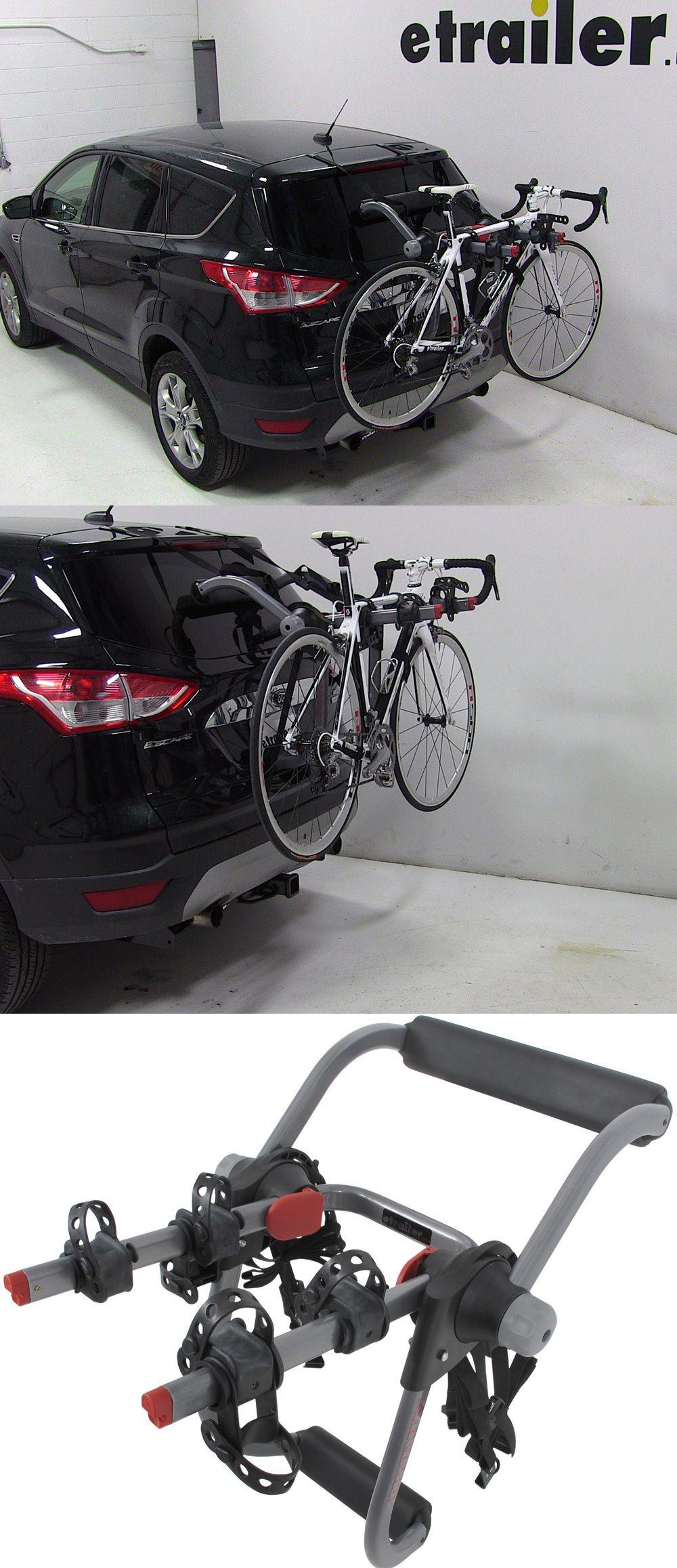 The Yakima Kingjoe Pro 2 Bike Rack Folding Arms Compatible