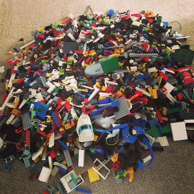 Came home to this #Lego #worthing #summer #toys #plasticbricks #legoland