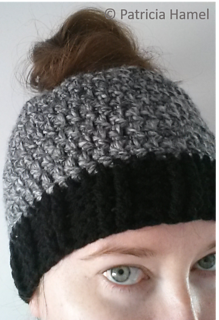 e5c1e8f058256 Free Crochet Ponytail Hat Pattern