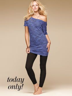 Today Only! $15 Tunics, Leggings, & Skirts. Regularly $24.50 or 2/$40. Use offer code STYLE15. Click for details.