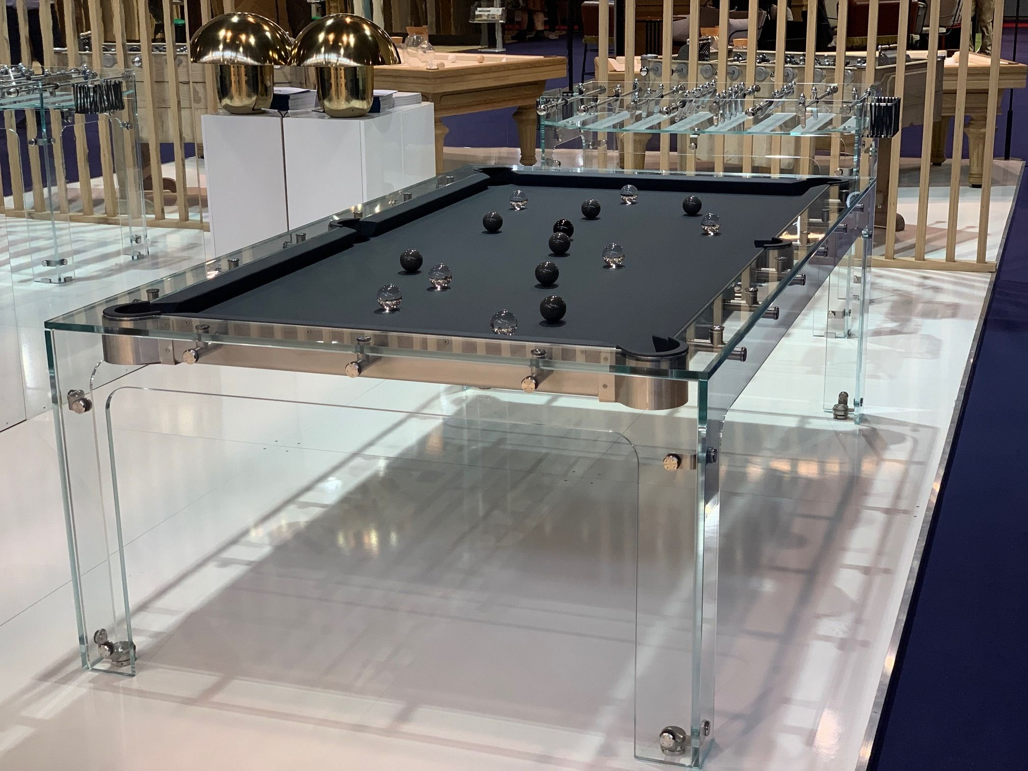 Contreplaqué Bambou 3 Mm billard carat light - collection design - billards toulet