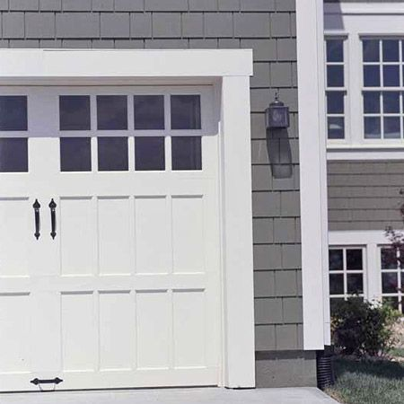 Siding price guide grey style and house for Garage door colors