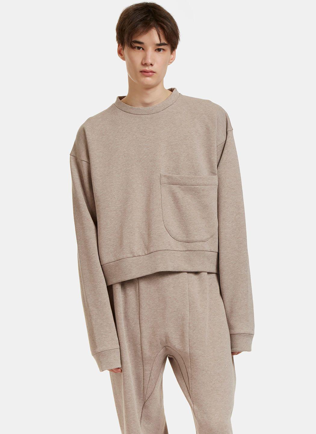 Von Sono Oversized Cropped Sweater | LN-CC