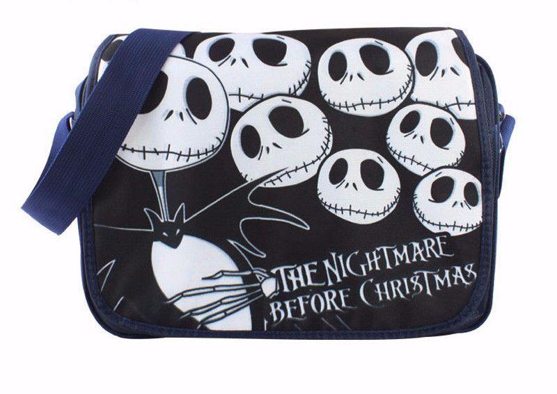 "Nightmare Before Christmas Jack Skellington 14"" Messenger Bag"