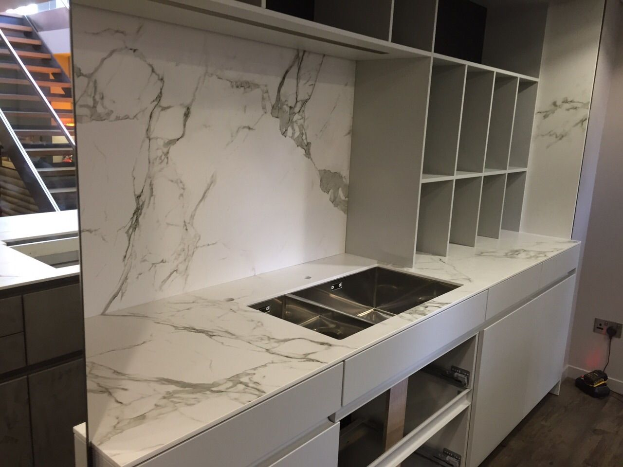 Dekton Aura worktops by The Marble Store This ultra