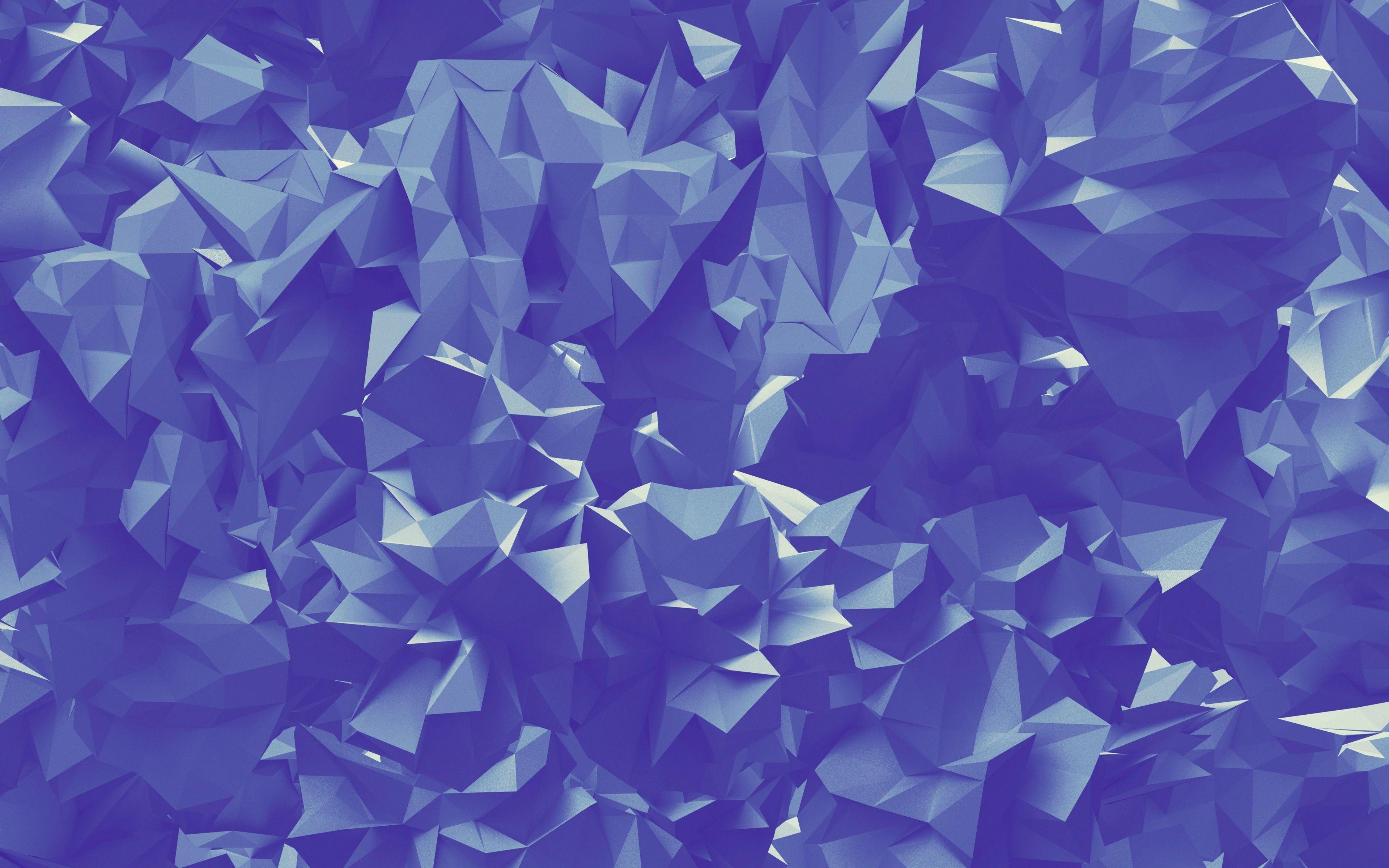 4k Triangles Fond Violet Creatif De La Geometrie Wallpaper Pink And Blue Violet Background Wallpaper