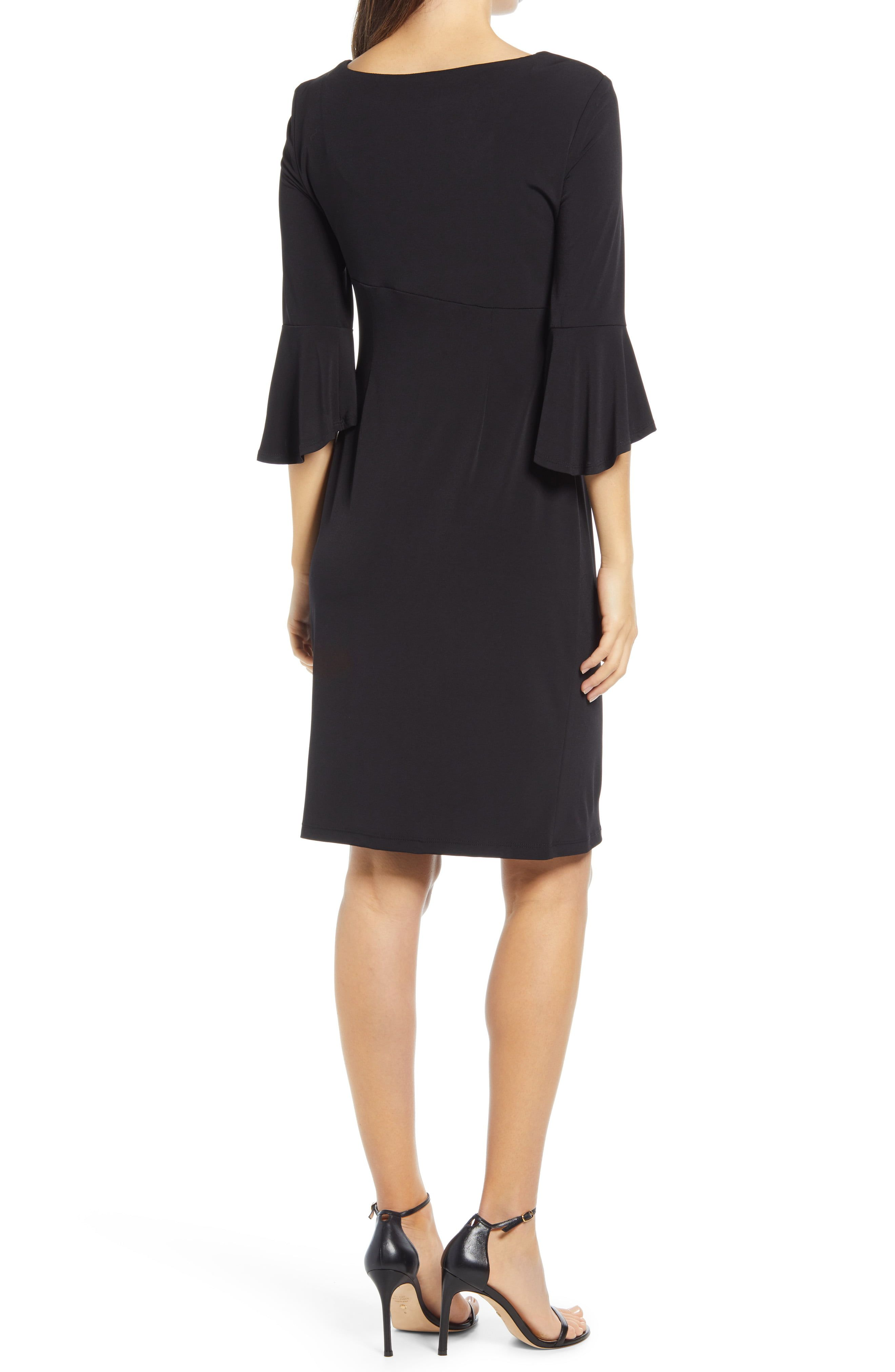 Connected Apparel Pleat Jersey Dress Nordstrom In 2021 Connected Apparel Figure Flattering Dresses Jersey Dress [ 4048 x 2640 Pixel ]