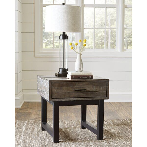 American Furniture Liquidation Brooklyn Park Mn: Malachy End Table With Storage
