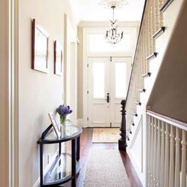 Updated Victorian Entryway