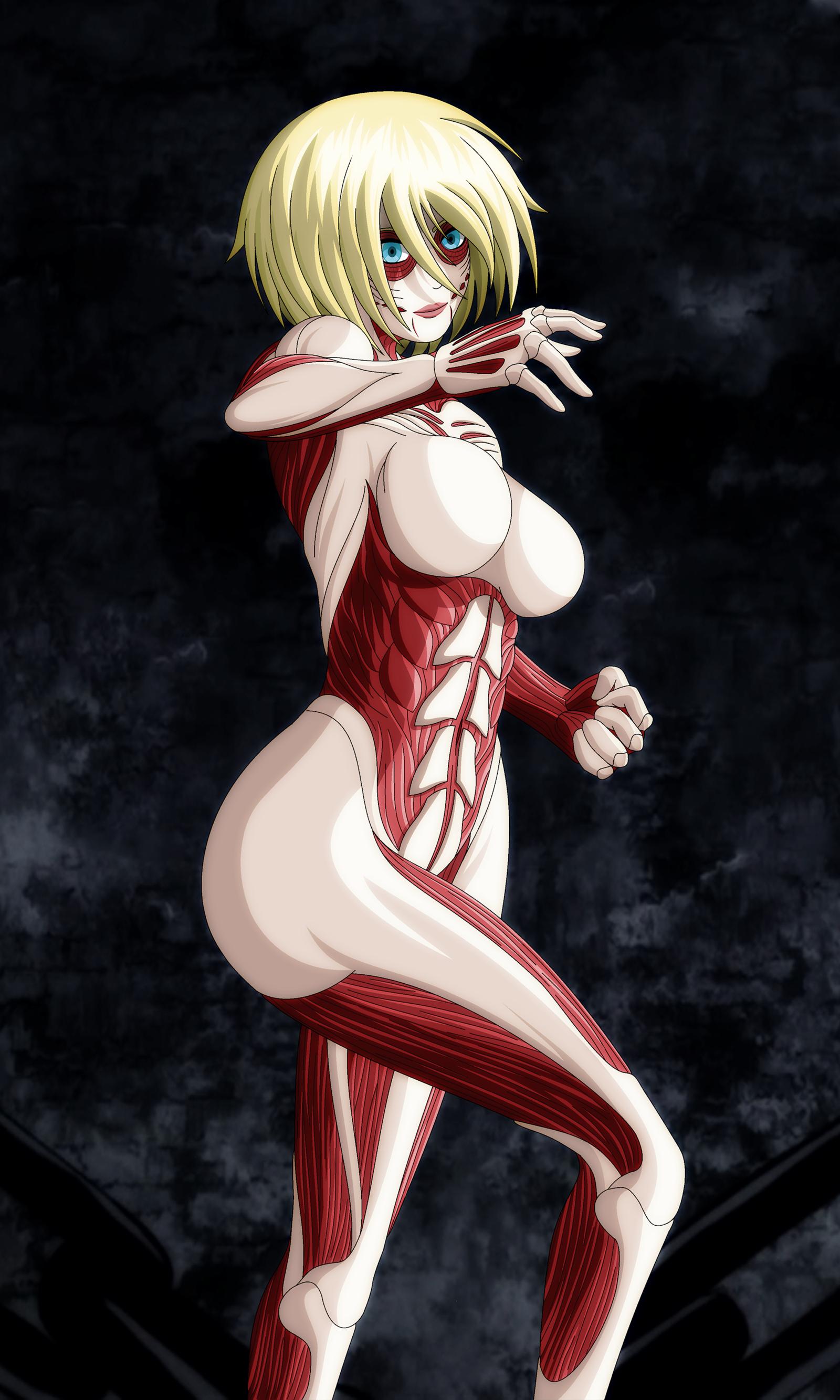 Female titan by ZantyARZ on deviantART | Female titan, Attack on titan anime, Attack on titan