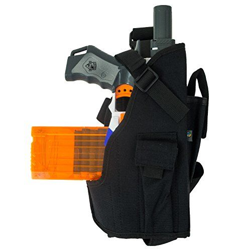 Blasterparts Multi Holster MX (right) - suitable for Nerf Blasters like  Strongarm (black): Amazon.co.uk: Toys & Games