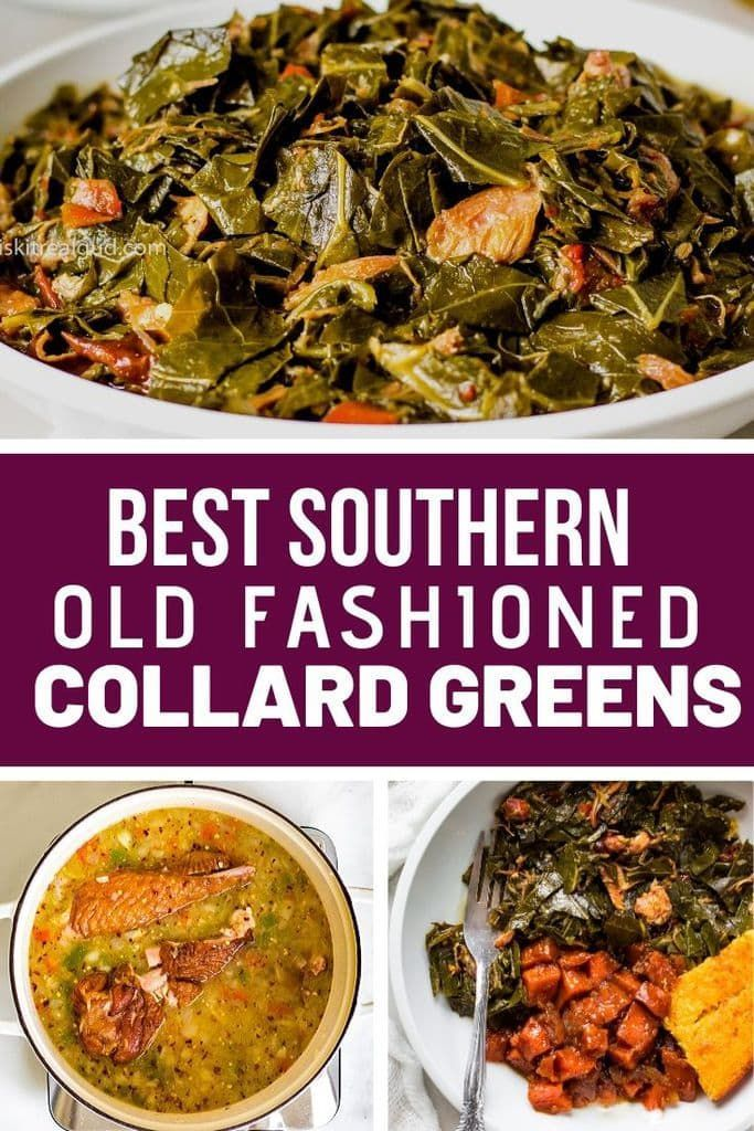 Southern Collard Greens Recipe Greens Recipe Southern Collard Greens Collard Greens Recipe