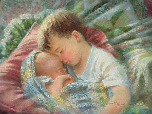 Bambini Dipinti ~ Kathy fincher babies modelos de bebê pinterest dipinti e