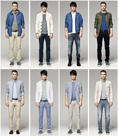 types of clothing styles for men - Google Search | FASHION ...