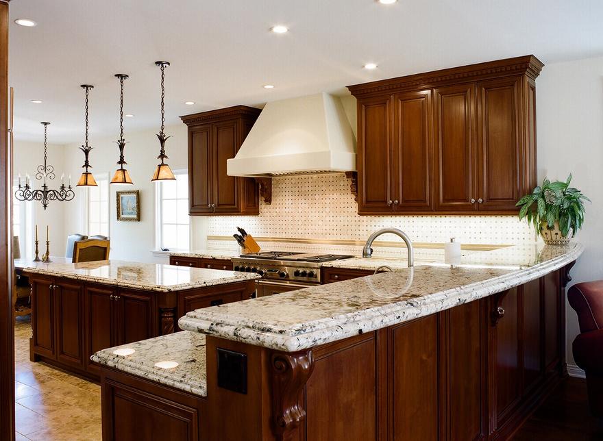 light granite dark cabinets pendant over island mediterranean kitchen dark cabinets kitchen on kitchen ideas with dark cabinets id=11428