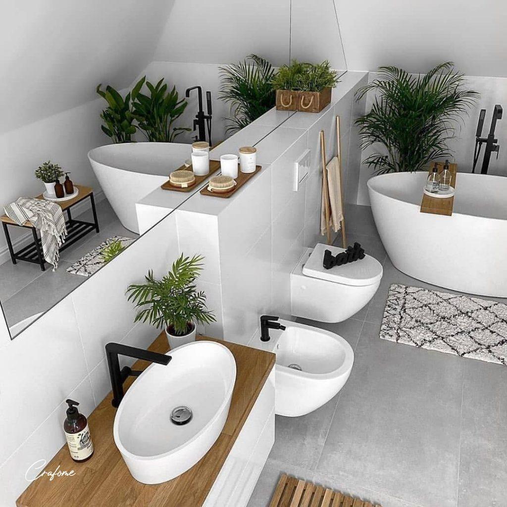 13 Awesome Small Bathroom Ideas Crafome Modern Small Bathrooms Small Bathroom Furniture Bathroom Design Small Modern
