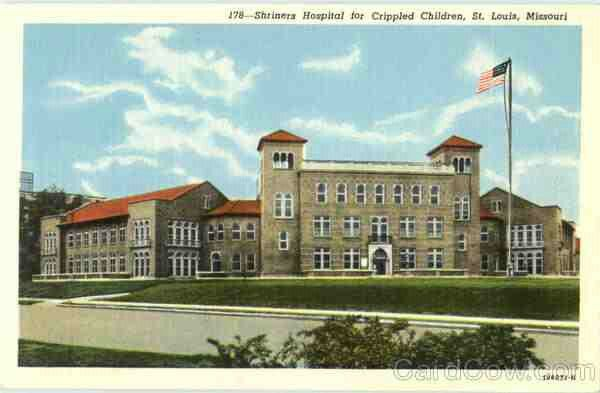 OLD SHRINERS HOSPITAL ON KINGSHIGHWAY | ST LOUIS BORN AND