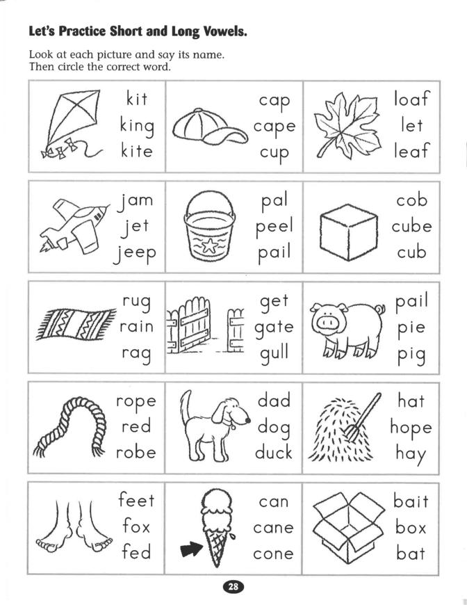 Coloring Book Amazing Long Vowel Worksheets For Kindergarten Picture Inspirations Short V Phonics Worksheets Kindergarten Phonics Worksheets Vowel Worksheets