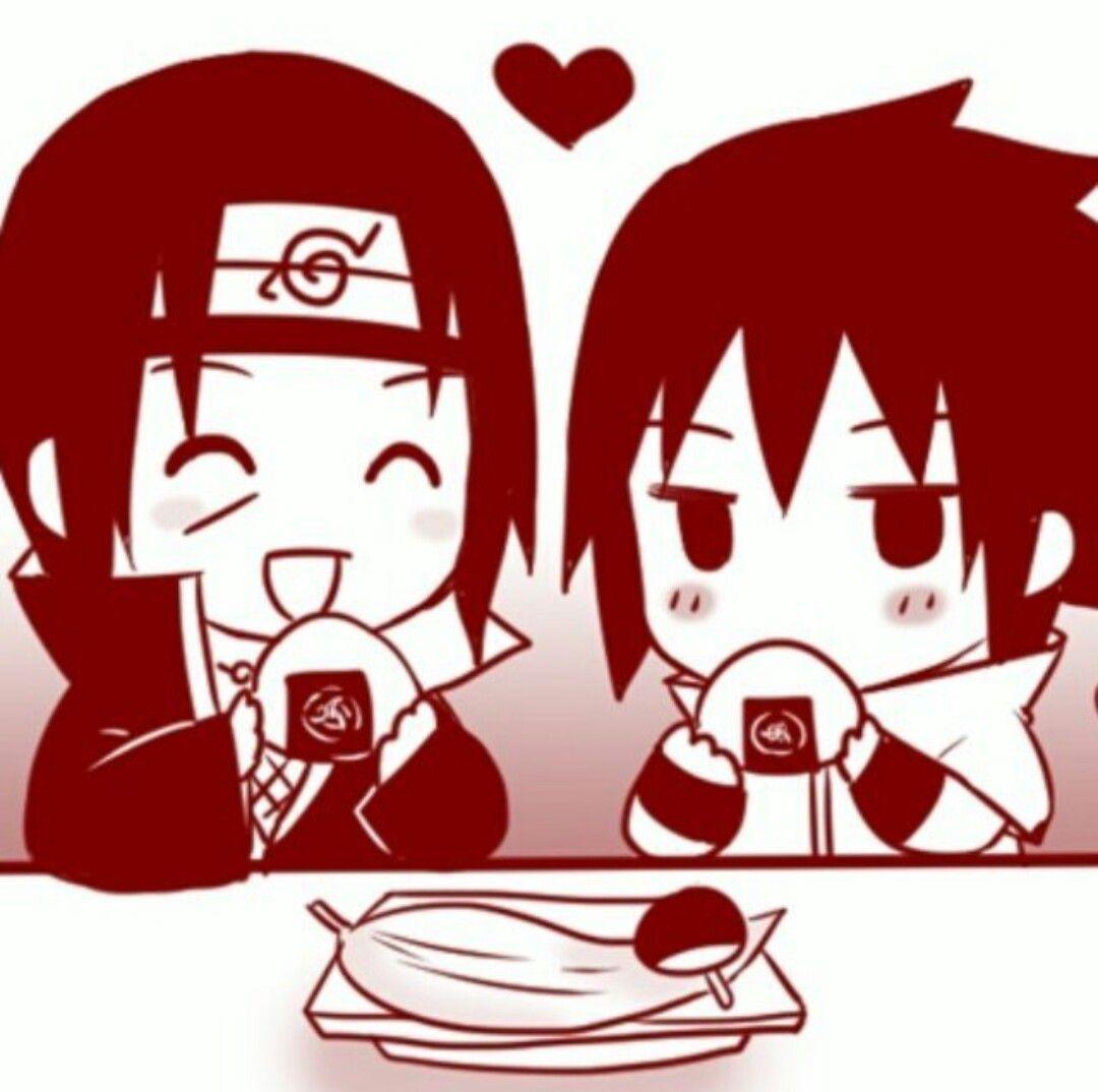Sasuke and itachi chibi