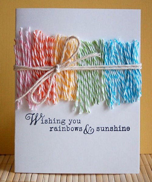 Twine Lots Of Beautiful Twine 3 9 Paper Cards Cute Cards