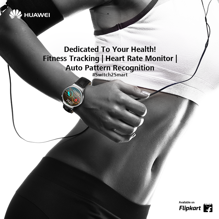 With Huawei Watch's smart health features, wear your heart