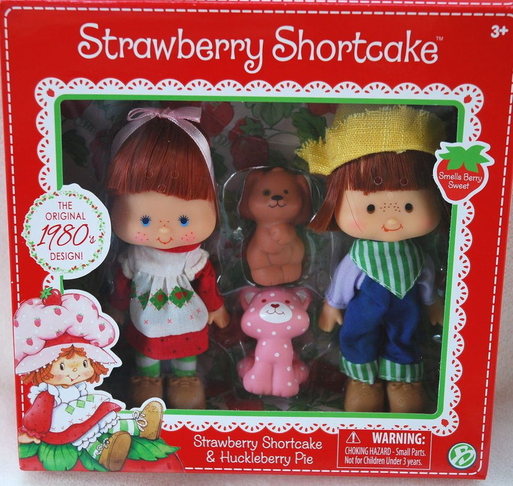 Strawberry Shortcake & HUCKLEBERRY PIE Classic Doll *NEW* Scented ...