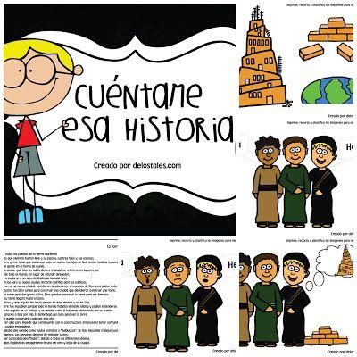Babel Con Imagenes Torre De Babel Historias De La Biblia Para