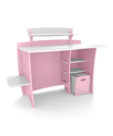 Take A Look At This Legar 233 Pink Amp White Desk Set By Dream