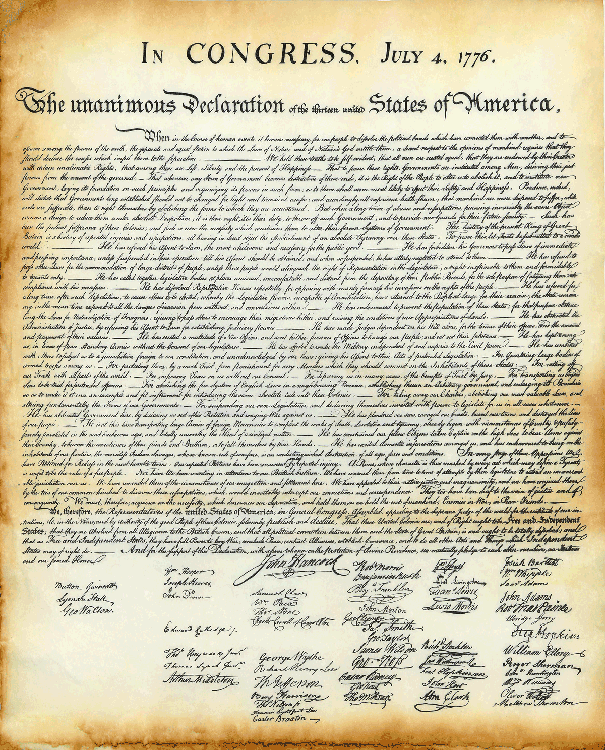 Our Founding Document