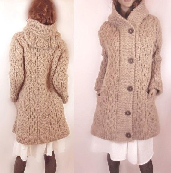 sweater coat -- wish i could get the pattern!
