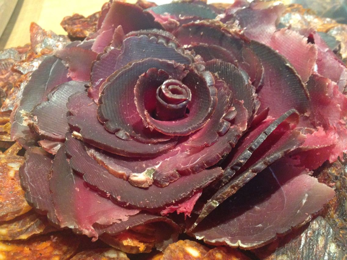 ham flower food drinks
