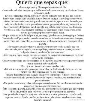 Tumblr Novios Frases Cartas De Amor Largas Textos Para Mi
