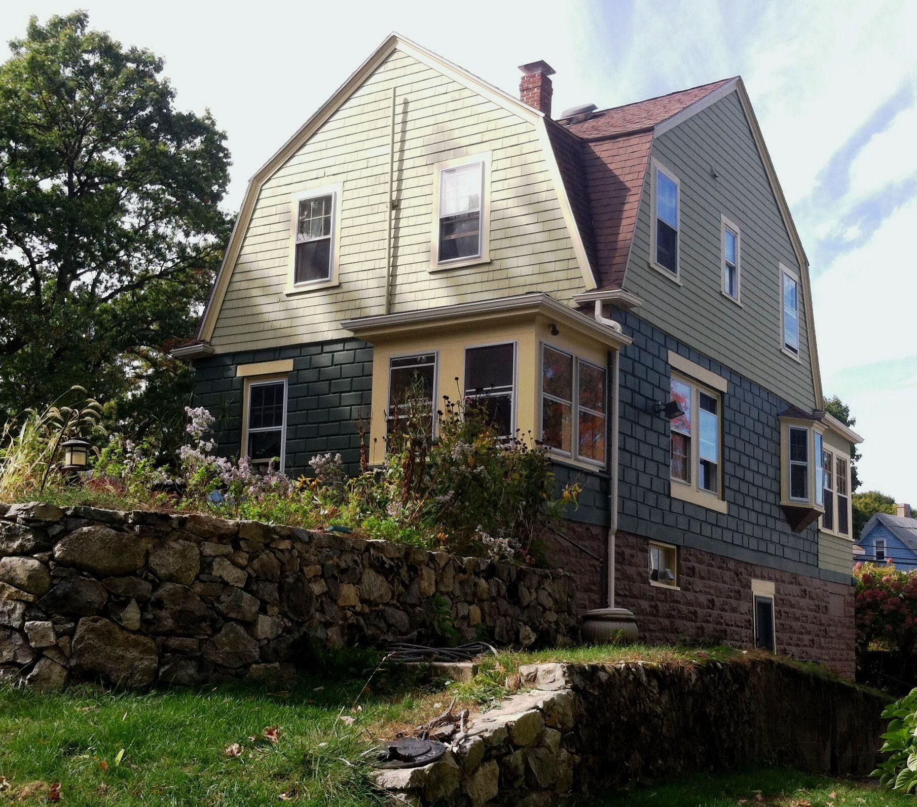 Dutch Colonial Luxury Homes: Dedham, Massachusetts By