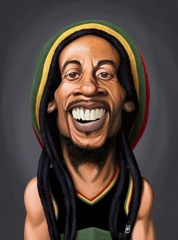 bob marley by robart at zippicouk art decor wall art - Caricature En Ligne Gratuite