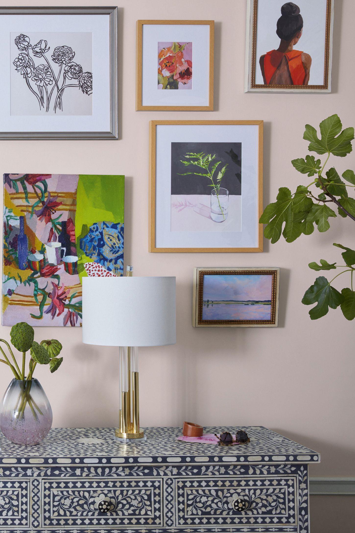 Top Knot 35 Wall Art Fern Wall Art Art Gallery Wall Home Art